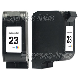 HP #23 Compatible Tri-Color Ink Cartridge C1823D