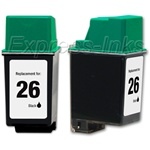 HP #26 Compatible Black Ink Cartridge 51626A