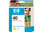 HP 40 Yellow Inkjet Cartridge 51640Y