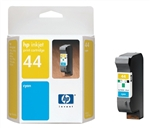 HP 44 Cyan Inkjet Cartridge 51644C