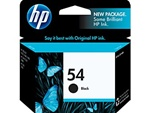 HP 54 Black Inkjet Cartridge CB334AN