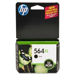 HP 564XL Genuine Black Inkjet Cartridge CN684WN