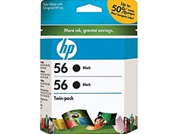 HP #56 Genuine Ink Cartridge Combo C9319FN