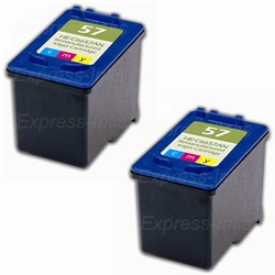 HP #57 Compatible Tri-Color Ink Cartridges C9320FN