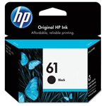HP 61 Genuine Black Ink Cartridge CH561WN