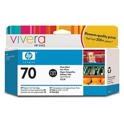 HP #70 Genuine Photo Black Ink Cartridge C9449A