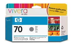HP #70 Genuine Gray Inkjet Ink Cartridge C9450A