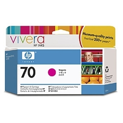 HP #70 Genuine Magenta Ink Cartridge C9453A