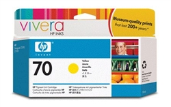 HP #70 Genuine Yellow Ink Cartridge C9454A