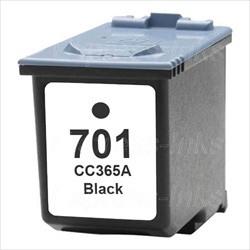 HP #701 Compatible Black Ink Cartridge CC635A