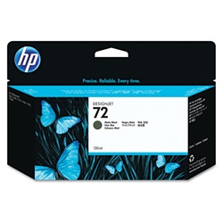 HP 72 Genuine Matte Black Ink Cartridge C9403A