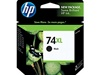 HP #74XL Genuine Black Inkjet Ink Cartridge CB336WN
