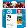 HP 75 Tri-Color Inkjet Cartridge CB337WN