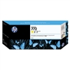 HP #772 Yellow Genuine Inkjet Ink Cartridge CN630A