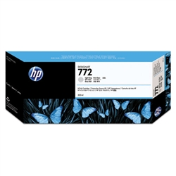 HP #772 Light Gray Genuine Inkjet Ink Cartridge CN634A