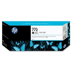 HP #772 Matte Black Genuine Inkjet Ink Cartridge CN635A