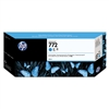 HP #772 Cyan Genuine Inkjet Ink Cartridge CN636A