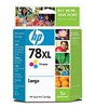 HP #78XL Genuine Tri-Color Inkjet Ink Cartridge C6654FN
