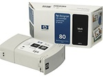 HP #80 Genuine Black Ink C4871A