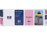 HP #81 Light Magenta Dye Inkjet Cartridge C4935A