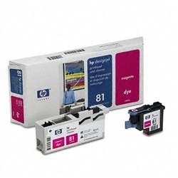 HP C4952A (#81) Magenta Genuine Printhead