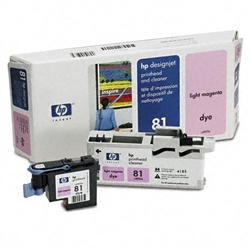 HP C4955A (#81) Light Magenta Genuine Printhead Cartridge