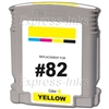 HP #82 Compatible Yellow Dye Ink Cartridge C4913A