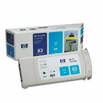 HP C4941A (#83) Cyan Genuine Inkjet Ink Cartridge