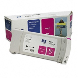 HP C4942A (#83) Magenta Genuine Inkjet Ink Cartridge