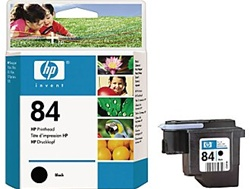 HP #84 Black Printhead Cartridge C5019A