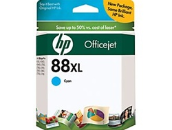 HP #88XL Cyan Genuine Ink Cartridge C9391AN