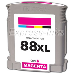 HP 88XL 10-Pack Magenta Ink Cartridges C9392AN