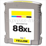 HP 88XL 10-Pack Yellow Ink Cartridges C9393AN