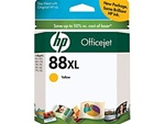 HP #88XL Genuine Yellow Ink Cartridge C9393AN