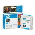 HP #88 Cyan Inkjet Ink Cartridge C9386AN