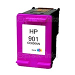 HP #901 Tri-Color Inkjet Ink Cartridge CC656AN
