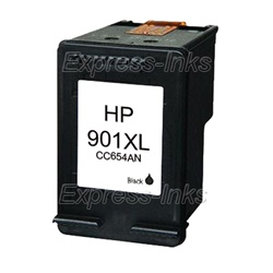 HP #901XL Black Inkjet Ink Cartridge CC654AN