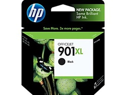 HP #901XL Genuine Black Ink Cartridge CC654AN