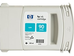 HP #90 High Yield Cyan Genuine Ink C5061A