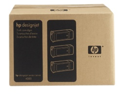 HP 90 High Yield Value 3-Pack 775ml Black Ink/Inkjet Cartridges C5095A