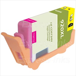 HP #920XL Magenta Inkjet Ink Cartridge CD973AN