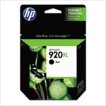 HP #920XL Genuine Black Inkjet Ink Cartridge CD975AN