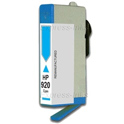 HP #920 Cyan Inkjet Ink Cartridge CH634AN