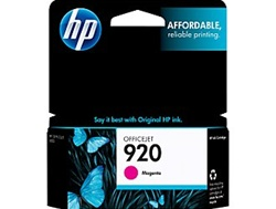 HP #920 Genuine Magenta Inkjet Ink Cartridge CH635AN