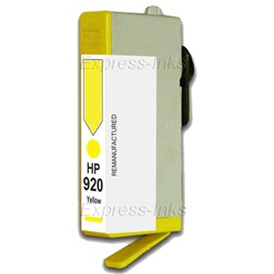 HP #920 Yellow Inkjet Ink Cartridge CH636AN
