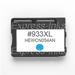 HP #933XL Compatible Cyan Ink Cartridge CN054AN