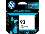 HP #93 Genuine Tri-Color Ink Cartridge C9361WN