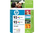 HP #93 2-Pack Genuine Tri-Color Ink Combo CC581FN