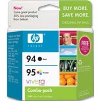 HP 94/95 Black/Tri-Color Inkjet Cartridges C9354FN