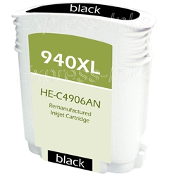 HP 940XL Compatible Black Inkjet Cartridge C4906AN